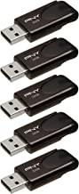 PNY Attaché 4 32GB USB 2.0 Flash Drive 5-Pack - P-FD32GX5ATT4-EF