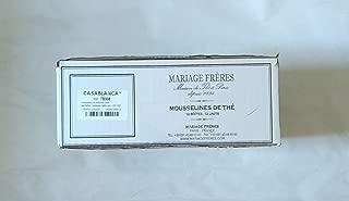 Mariage Freres - CHAMOMILLA Wild chamomile flowers - Organic garden artisan herbal tea (NEW!) (TB551) - 12 x 30 Muslin Tea Sachet / bags (full card box)