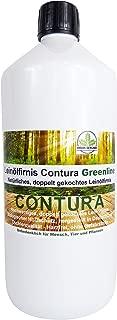 0,5 Liter Contura Natur Holzschutz Leinölfirnis Gefahrstofffrei Holzöl Leinöl Firnis Holz Möbel Lasur Lackfirnis