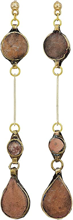 Vanessa Mooney - The Aaliyah Drop Earrings