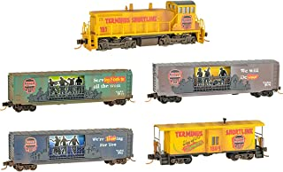 Micro-Trains MTL N-Scale Halloween Zombie Terminus Complete Train Set