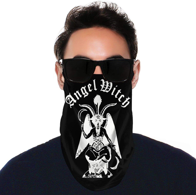 SIPONE Washable Men's & Women's Angel Witch Reusable Multiuse Bandanas Neck Gaiter Print Mask