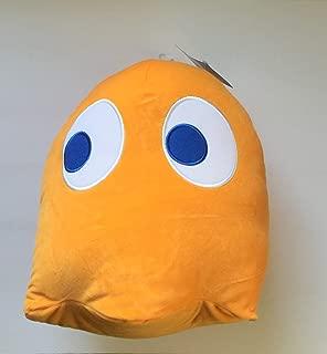 "Pac-Man Jumbo 12"" Soft Orange Ghost Plush"