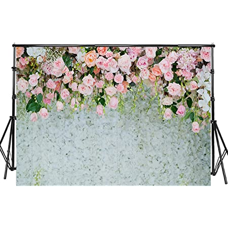 10x6.5ft Flower Garden Background Nature Scenery Photography Backdrop Photo Props Room Murals DSFU010