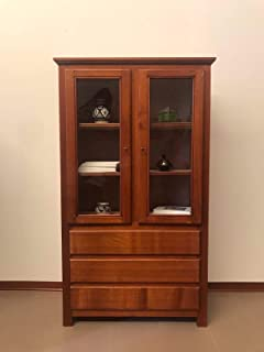 Muebles étnicos aparador Vitrina étnica salón Oriente Madera Maciza 0910190901