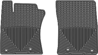 WeatherTech (W307) Floor Mat, Rubber, Front, Black
