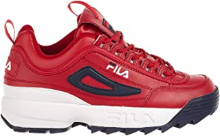 Men's Disruptor Ii Premium Red/White Navy Ankle-High...