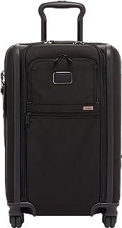 تومي - ألفا 3 القابلة للتوسيع انترناشونال 4 عجلات حقيبة محمولة - حقيبة صغيرة قابلة للدوران 22 بوصة للرجال والنساء - أسود