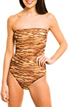 Kiniki Sara Tan Through Tube Swimsuit Swimwear