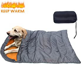 KUDES Dog Sleeping Bag Waterproof Warm Packable Dog Bed with Storage Bag for Indoor Outdoor Travel Camping Hiking Backpack...