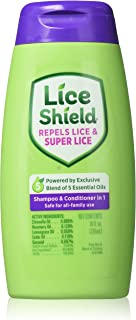 Lice Shield Shampoo and Conditioner In 1, 10 Ounce (Pack of 3)
