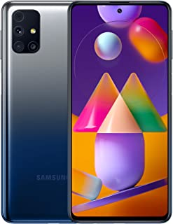 Samsung Galaxy M31s Mobile Phone Sim Free Smartphone - Blue (UK version) [Amazon Exclusive]