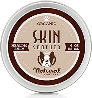 Natural Dog Company Skin Soother, All Natural Healing Balm for Dogs, Relieves Dry, Itchy Skin, Treats Skin Irritations, Wo...