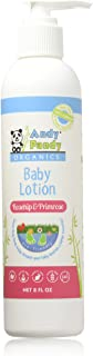 Andy Pandy 100% Natural & Organic Baby Lotion (8 fl oz, Rosehip & Primrose)