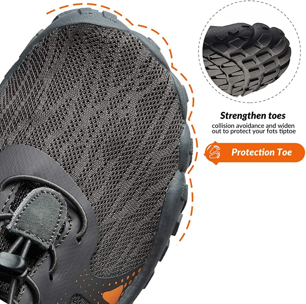 STEELEMENT Mens Barefoot Shoes Milinalist Shoes Trail Running Sneakers Outdoor Sports Footwear