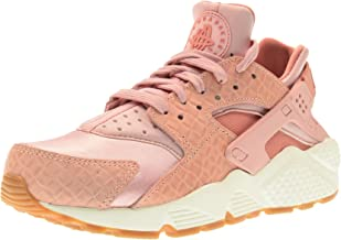 NIKE Women's low shoes sneakers 683818 601 WMNS AIR Huarache RUN PRM size 39 Pink