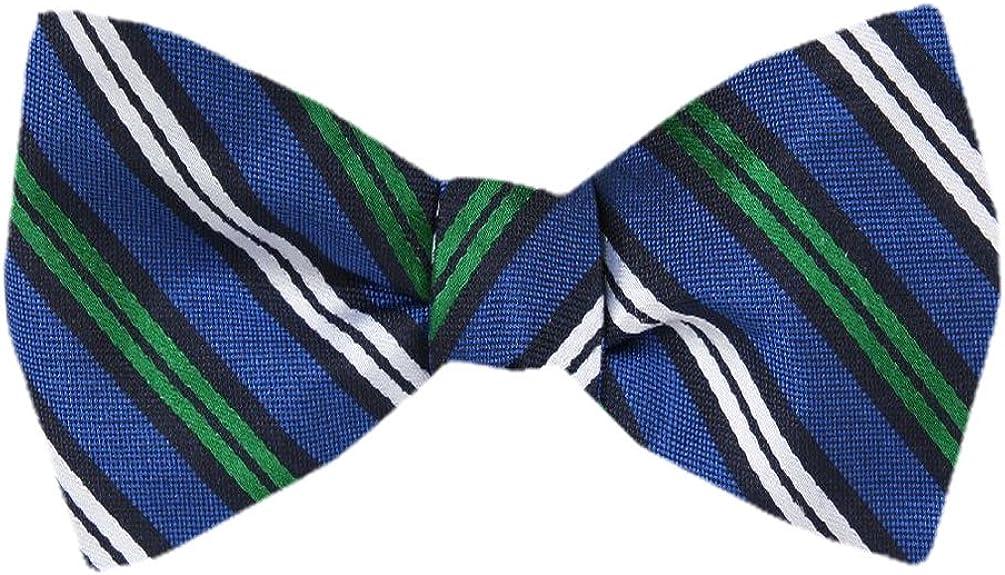 FBTZ-1018 - Men's Silk Self Tie Bowtie Tie Yourself Bow Ties