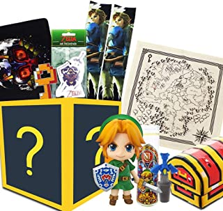 Toynk Nintendo Collectibles Legend of Zelda LookSee Gift Box | Zelda Figure and More