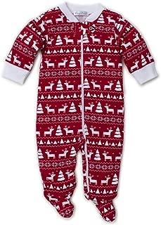 Kissy Kissy Unisex Baby Christmas Deer - Print Footie W/Zipper