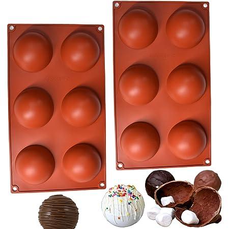 SAMU | 2 Moldes de silicona | Moldes para hornear | Moldes de Silicon | Moldes de silicona para hornear | Moldes para chocolate | Moldes silicon reposteria | Moldes silicon | Reposteria moldes
