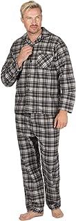 INSIGNIA Mens Reactive Dye Flannel Pyjamas 100% Cotton