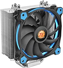 Thermaltake RIING Silent 150W Intel/AMD 120mm High Airflow LED Fan CPU Cooler, Blue