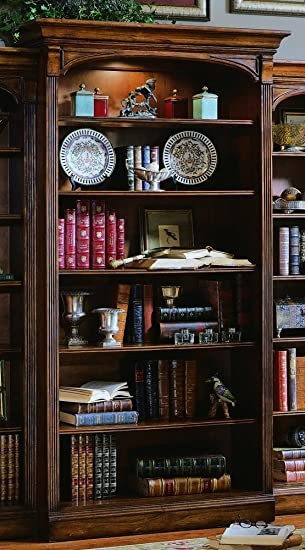 Amazon Com Hooker Furniture Brookhaven Open Bookcase In Cherry Furniture Decor