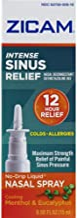 Zicam Intense Sinus Relief Nasal Spray 0.50 Oz