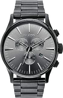 Nixon Men's Geo Volt Sentry Stainless Steel Watch with Link Bracelet