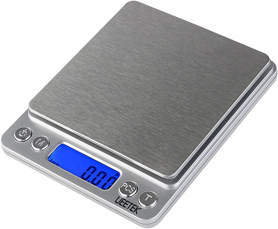 UEETEK 500g 0 01g Digital Pocket Scale Digital Food Scale Jewelry Scale With LCD Screen