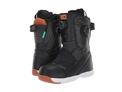 DC Mora BOA(r) Snowboard Boots (Black/Blue) Women