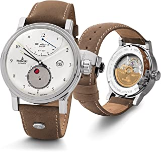 Kronsegler - Reloj automático Relativity de Kronsegler Einstein, de acero blanco