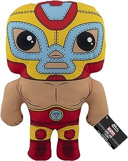 "Funko Pop! Plush: Marvel Luchadores - 17.5"" Iron Man Multicolor"