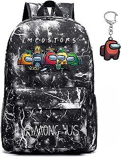 Onder ons rugzak, sWerewolf Killing Student Rugzak, schooltas, jongen en meisje laptop rugzak, cadeau voor tienerspelfans,...