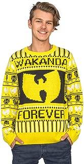 Marvel Comics Black Panther Wakanda Forever Wu Tang Ugly Christmas Sweater