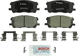 Bosch BC1005 QuietCast Premium Ceramic Disc Brake Pad Set For: Lexus RX330, RX350, RX400h; Toyota Highlander, Front