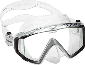 Cressi Perfect View Scuba Diving, Snorkeling Mask in Pure Comfortable Silicone - Liberty Triside SPE: designed in Italy