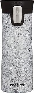 Contigo 2103524 Couture Water Bottle, 14 oz, Speckled Slate