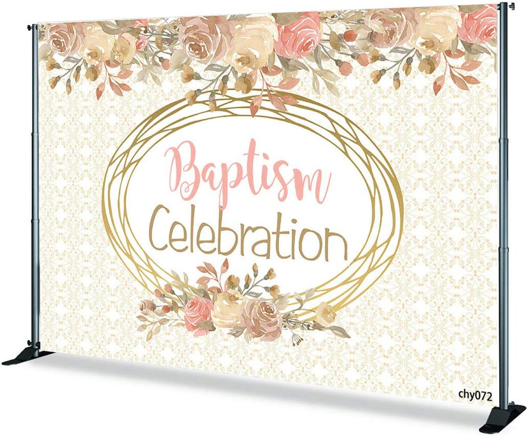 7x5ft,chy066 TCReal Blessing Party Background Photography Studio Romantic Festive Background Baby Birthday Holiday Celebration Photography Background