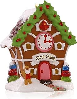 Hallmark Keepsake Ornament Gingerbread Clock Shop Noelville