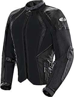 Joe Rocket Cleo Elite Women's Mesh Street Motorcycle Jacket - Black / Medium