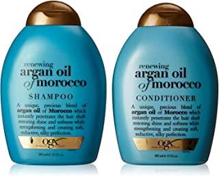 OGX Renewing + Argan Oil of Morocco Shampoo & Conditioner Set, 13 Ounce (packaging may vary)