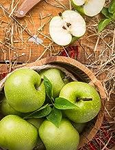 Carnet de Notes: Grand journal personnel de 121 pages blanches avec couverture « Pommes Vertes » (Mon journal personnel vierge) (French Edition)