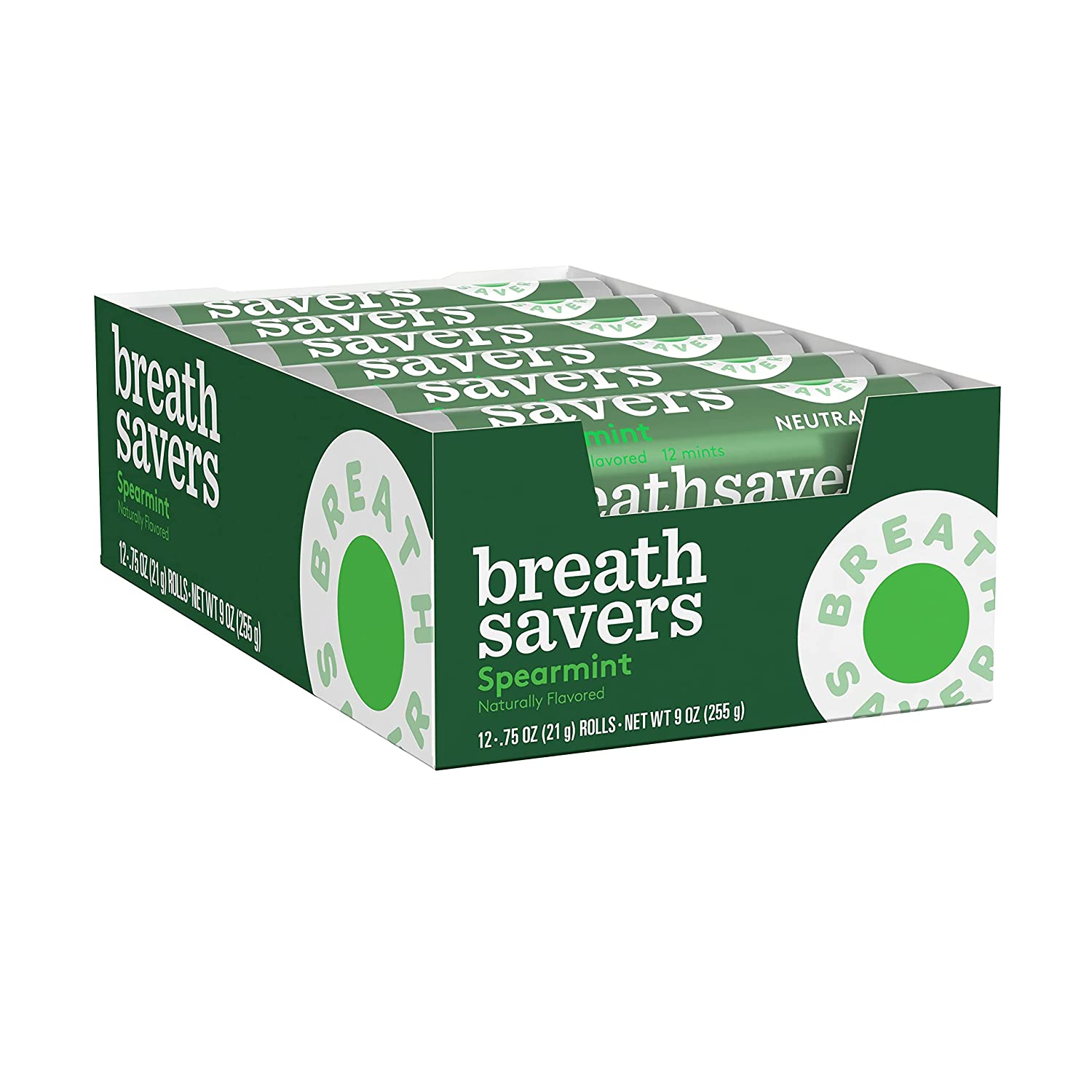 BREATH SAVERS Spearmint Clearance SALE! Limited time! Industry No. 1 Flavored Sugar M Bulk Breath Free Mints