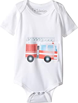 Fire Truck G-Tube One-Piece (Infant)