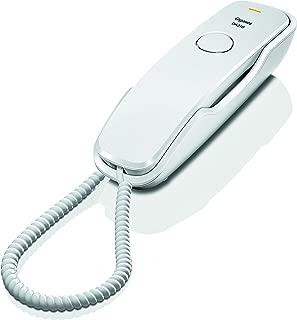 Gigaset DA210 Telefoni Fisso, Installabile a Parete, Bianco, [Italia]