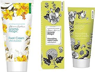Aroma Magic Foot Cream, 50g And Aroma Magic Nourishing Hand Cream, 50g