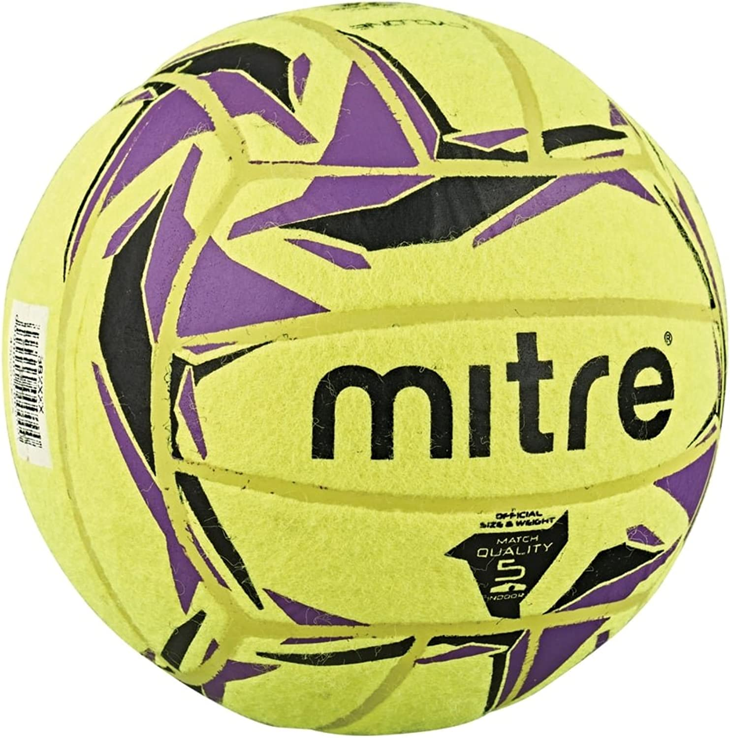 Mitre Cyclone Indoor Soccer Soccer Ball Yellow