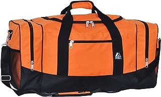 Everest Sporty Travel Duffel Bag, Orange