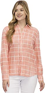 IZOD Womens Weekend Soft Button Down Shirt